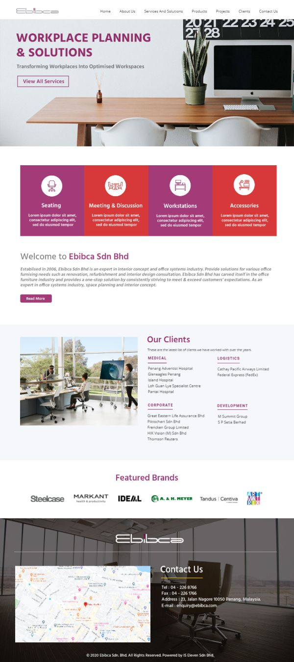 IS ELEVEN SDN. BHD. | WEBSITE DESIGN PENANG